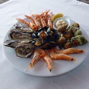 Asiette de fruits de mer