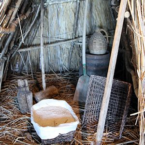 Cabane de saunier dans la cabane rouge
