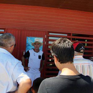 Visite décalée de la ferme ostréicole avec BILOUT